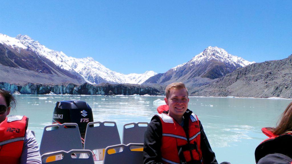 Having fun in New Zealand!